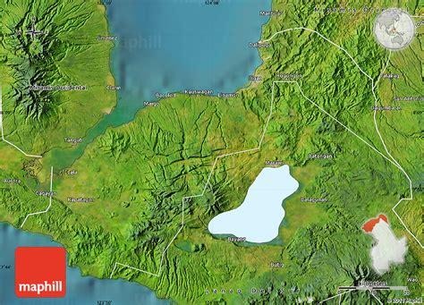 map philippines satellite satellite map of lanao norte