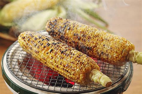 dogs corn on the cob easy asian corn on the cob with garlic soy glaze recipe