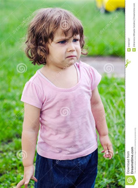 little girls crying little girl royalty free stock photography image