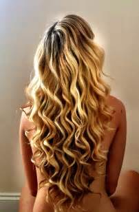 easy curling wand for permed hair my hair today i love my highlighted blonde long v cut