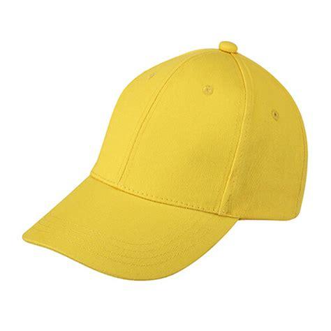 plain baseball cap boys junior childrens hat summer