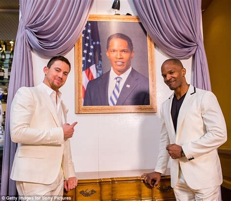 cast of white house down jamie foxx channing tatum take over cancun with white house down party