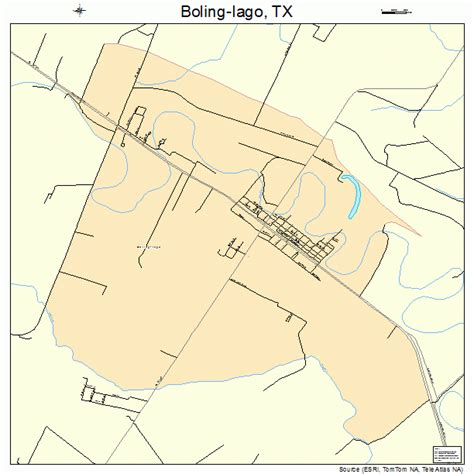boling texas map boling iago texas map 4809238