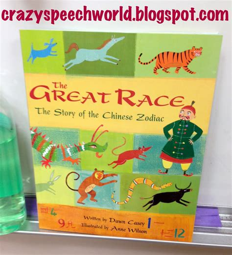 new year race story this week in speech the great race lunar new year