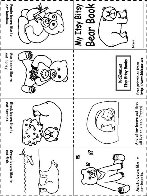 kindergarten activities on hibernation my itsy bitsy bear book hibernation unit pinterest