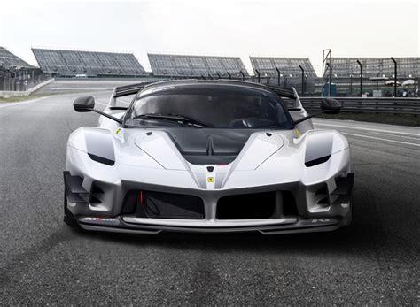designboom ferrari ferrari s fxx k evo is a track only supercar with formula
