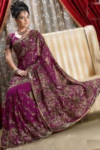 Bridals like these sarees and worn out in their wedding functions