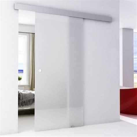 porta in cristallo scorrevole porta scorrevole base in cristallo neutro acquista da obi