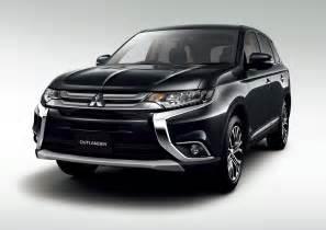 Mitsubishi Outlander Phev Hybrid Facelifted Mitsubishi Outlander Phev Is More Efficient