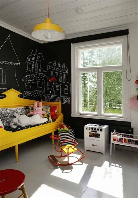 kids room wall blackboard walls and chalkboards for kids room to bloom