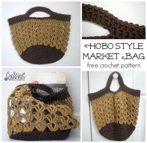 crochet pattern market bag free market bags two free crochet patterns cre8tion crochet