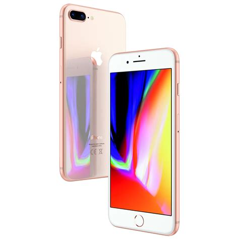 telefon mobil apple iphone 8 plus 64gb 4g gold emag ro