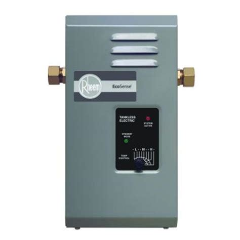 rheem ecosense rete 3 3kw 0 09 gpm point of use tankless