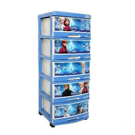 Lemari Plastik Hello Di Bandung jual creova plastik frozen lemari 5 susun harga
