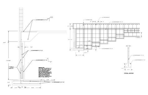 masonry layout exles masonry retaining wall design t8ls com