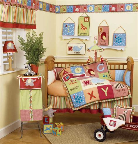 Baby Bedding Sets And Ideas Alphabet Crib Bedding