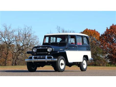 Jeep Willys Wagon Classic Willys For Sale On Classiccars 118 Available