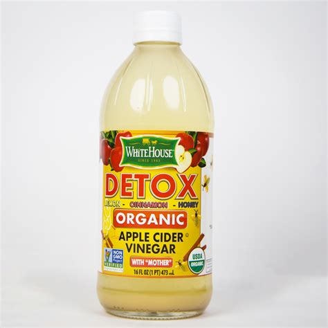 Organic Honey And Apple Cider Vinegar Detox by Organic Detox White House White House