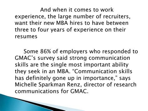 Why Do Employers Want Mba by Why Mba