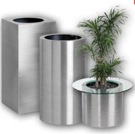 1000 images about stainless steel planters pots and