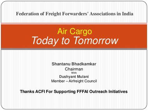 air cargo today tomorrow
