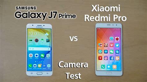 Samsung J7 Prime Dan J7 Pro samsung j7 prime vs xiaomi redmi pro test