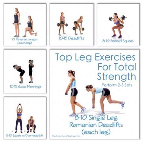 top leg exercises for total strength loss fitness