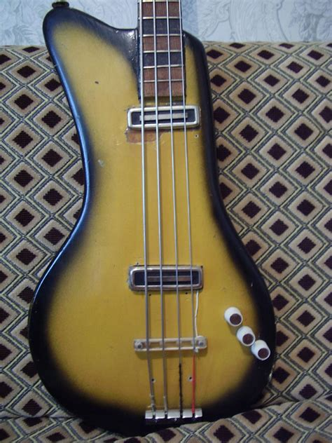 Handmade Bass Guitar - handmade bass guitar from ussr