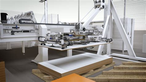woodworking manufacturing scm shows lean on a large scale at iwf 2016