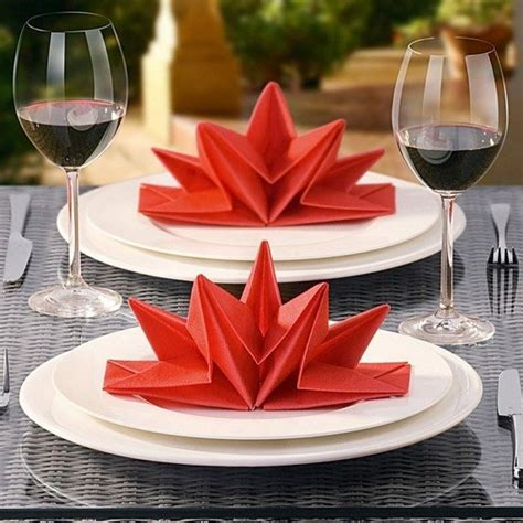 Creative Paper Napkin Folding - 40 most creative table napkin folding ideas to practice