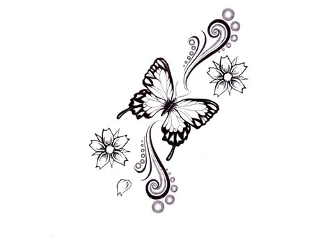 swirl design tattoos butterfly tattoos page 51