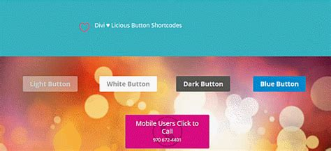 elegant themes image gallery shortcode divi theme buttons shortcode for your web design projects