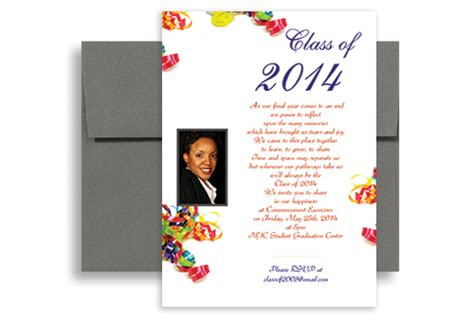 Mba Graduation Cards by 2018 Mba Master Phd Graduation Invitation Design 5x7 In