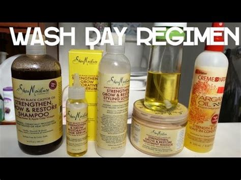 non relaxed hair care wash day regimen for colored relaxed hair youtube
