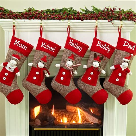 twenty five days of christmas minu stocking on a rope from crackabsral 17 best best embroidered personalized 2016 images on