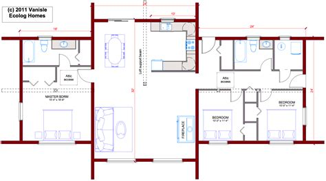 home design for 4 bedrooms log cabin floor plans house home bedroomframe plan also 4