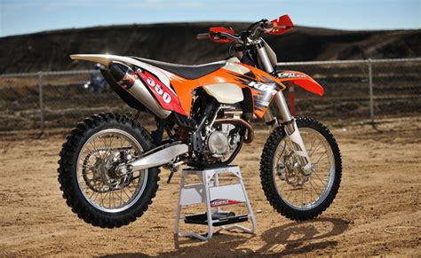 2011 ktm 350xcf trials and motocross news