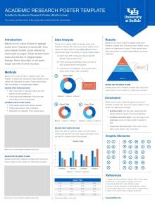poster template vertical presentation templates at buffalo school of