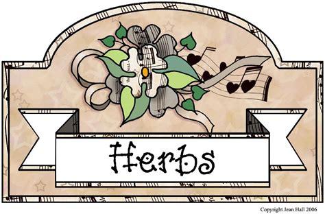 free herb clip art