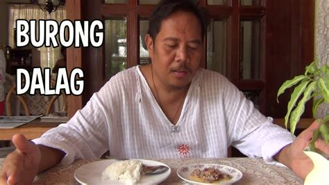 buro recipe disgusting things filipinos eat burong dalag