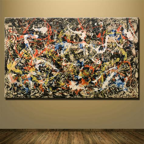 painting for home decoration buy wholesale jackson pollock canvas from china