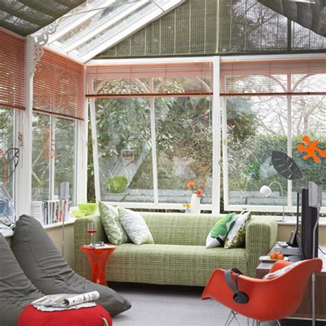 Ideas For Conservatory Interiors by Grey Conservatory Ideas Terrys Fabrics S