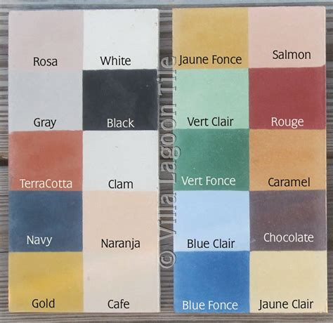 tile paint colors monterey collection cement tile colors villa lagoon tile