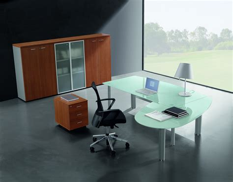 executive glass office desk nexa glass glass executive desk with return tag office
