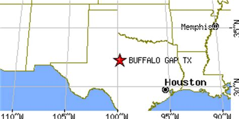 buffalo texas map buffalo gap texas tx population data races housing economy