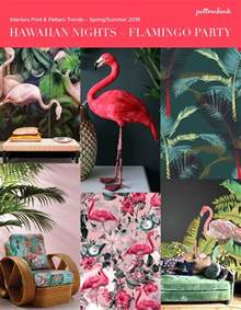 Tree Wall Mural hawaiian nights interiors print amp pattern trend story