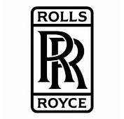 Rolls Royce Logo Decal 3