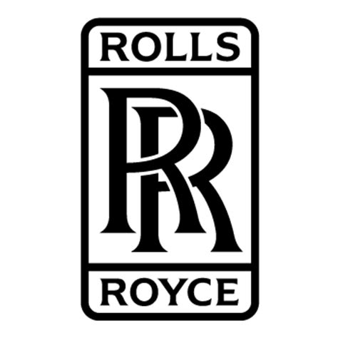 roll royce logo rolls royce logo decal 3