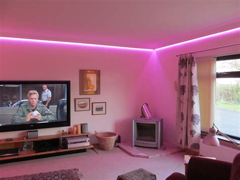 led home decor led lighting ideas for living room inspiration tips to