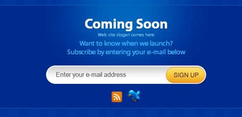 coming soon page template coming soon page template